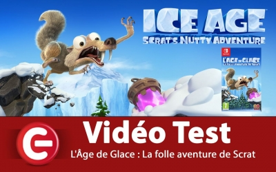 Test vidéo [VIDEO TEST] L'Âge de Glace : La folle aventure de Scrat - Switch